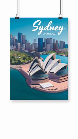 Affiche Sidney Opera House