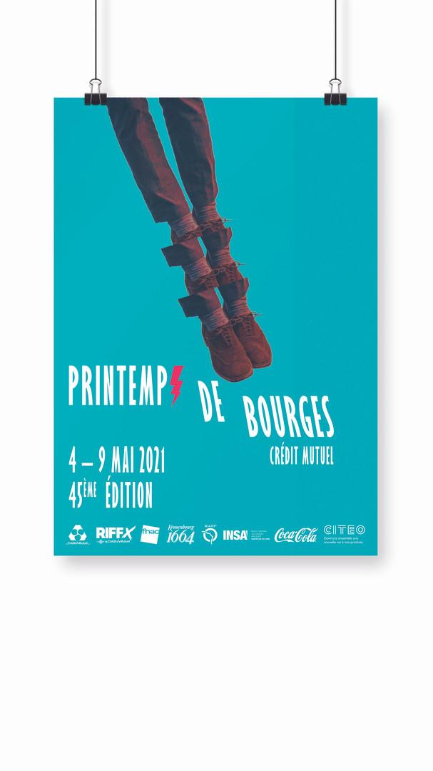 Affiche Printemps de Bourges