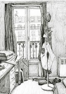 Stanza a Parigi
