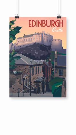 Affiche Edinburgh Castle