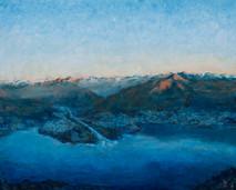 Delta visto dal monte Gambarogno