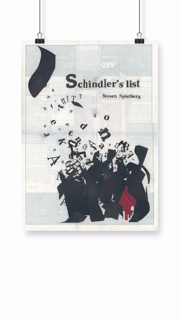 Affiche Schindler's list.