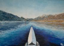 Lago maggiore in barca