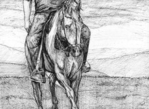 Destriero con cavaliere