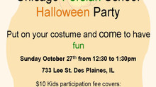 Chicago Persian School Halloween Party