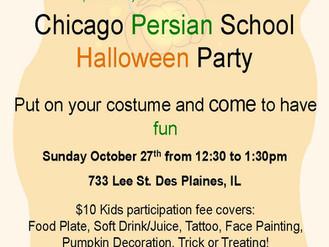 Chicago Persian School Halloween Party