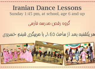Iranian Dance Lessons for Kids