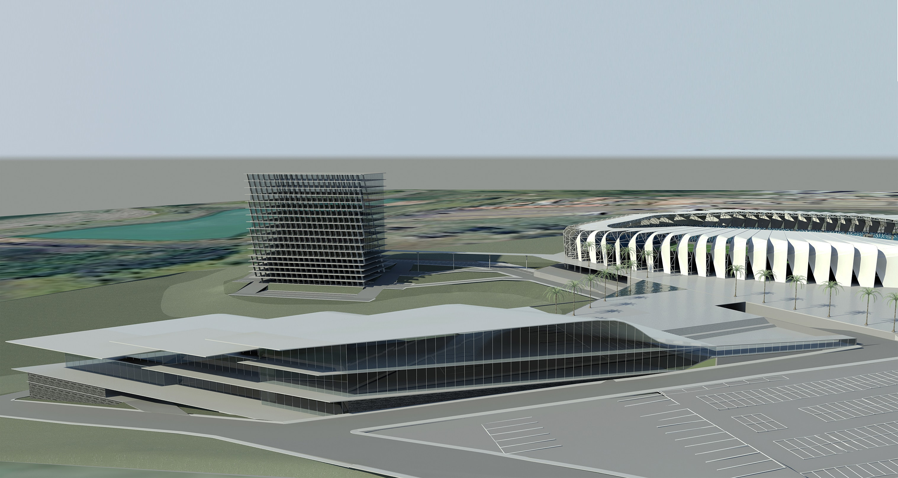 Complexo Convenções Arena Guarani