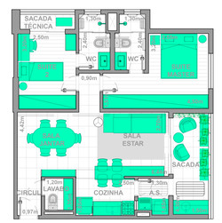 Apartamento MF