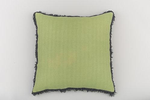 Leaf Green/Black Fringe