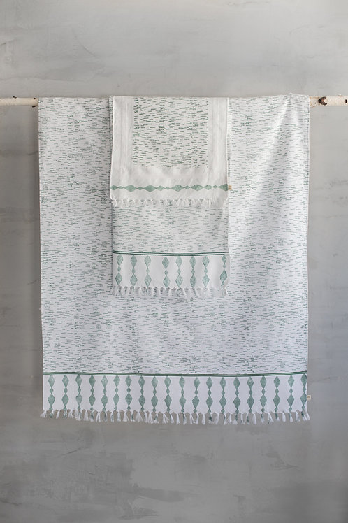 Diamond Water Abstract Towel Set