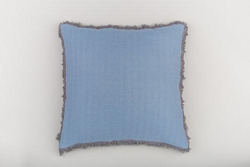 Blue-Grey/Slate Fringe