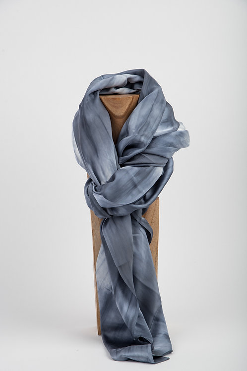 Grey Melting Bamboo Scarf