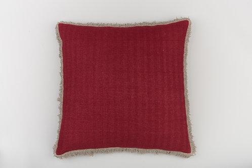 Warm Red/Brown Fringe
