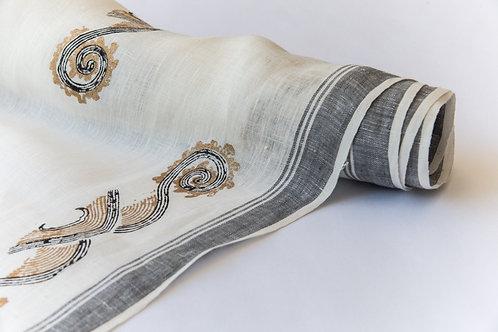 Oro Black Terra Mar Textile