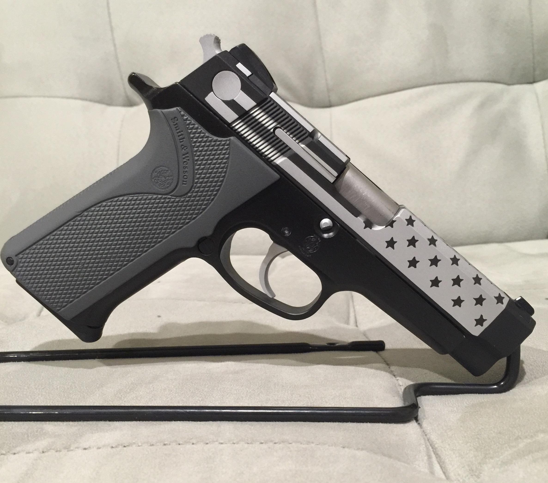 American Flag Pistol