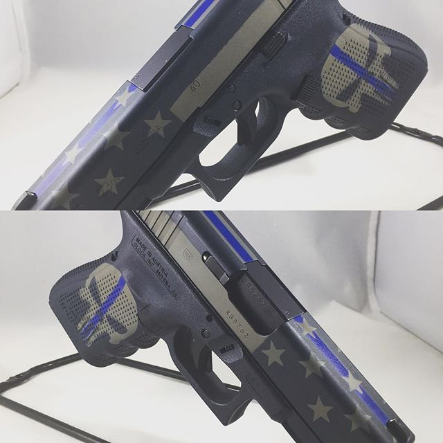 Thin Blue Line Pistol
