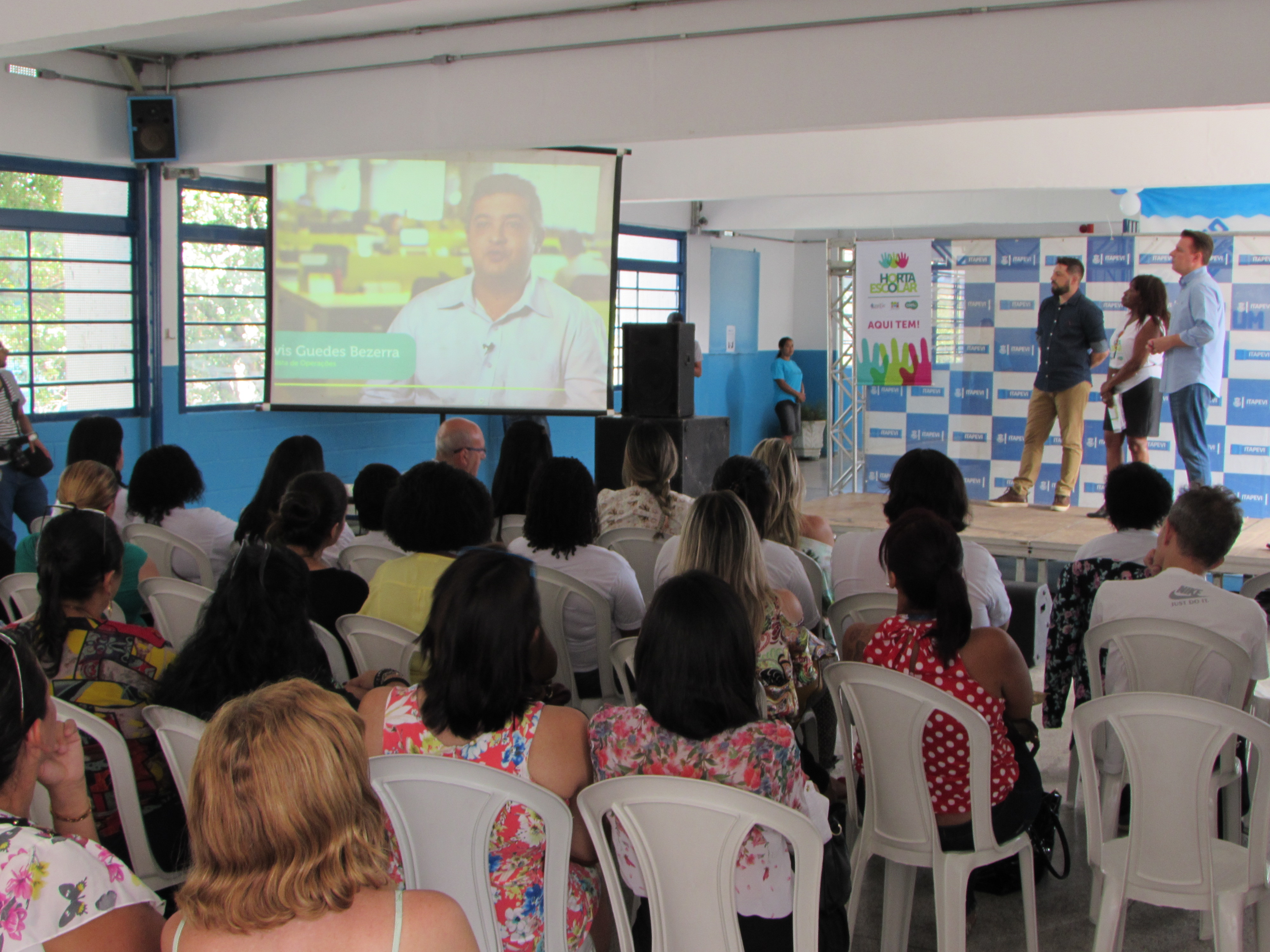 Lançamento  Projeto Horta - Itapevi