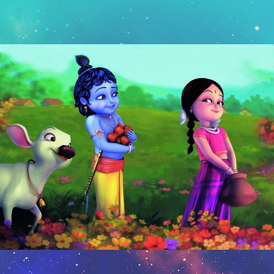 Krishna Puzzle   A4 24 Piece