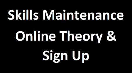 Skills Maintenance Online Theory & Sign