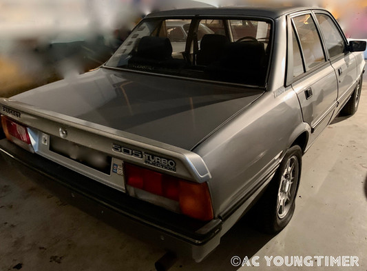 Peugeot 505 Turbo Injection profil arrie