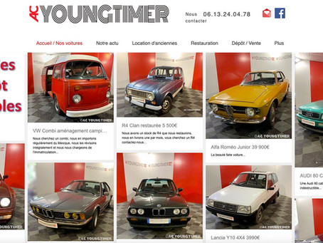 AC Youngtimer a enfin mis son site en ligne