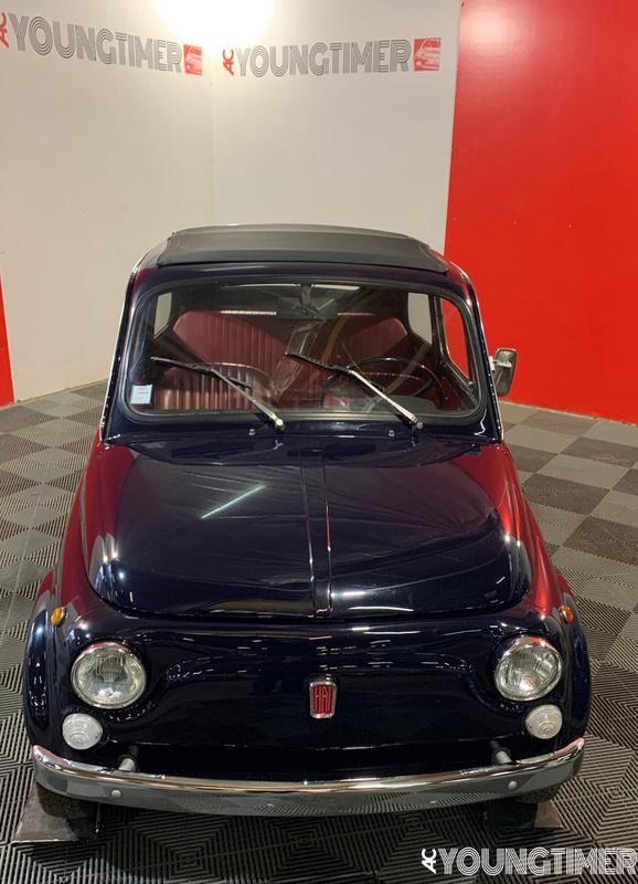 Fiat 500 MYCAR restaurée