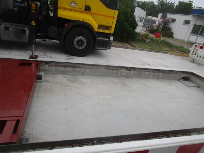 Montaggio Pesa a Ponte BASF