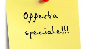 Abbiamo un'offerta speciale!
