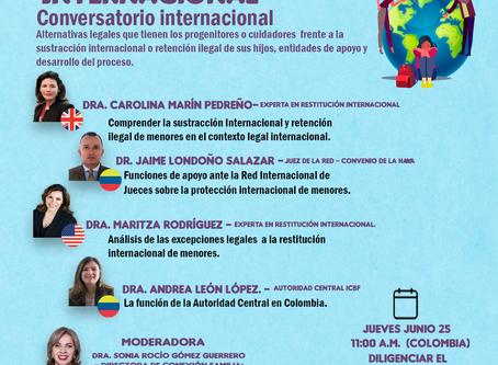 CONVERSATORIO SOBRE RESTITUCIÓN INTERNACIONAL DE MENORES, RETENCIÓN ILEGAL Y RÉGIMEN DE VISITAS