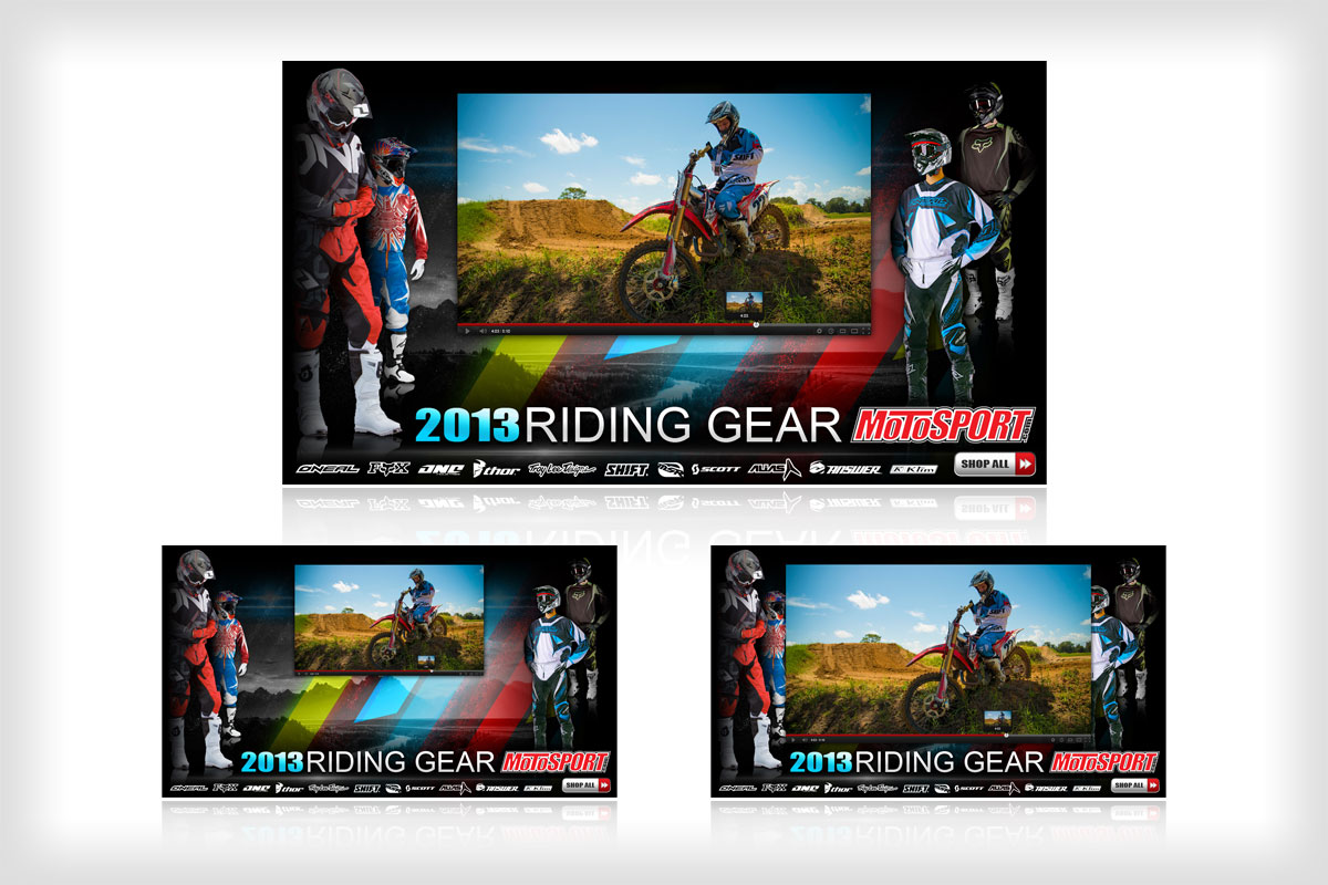 2013 Riding Gear Media Wrapper