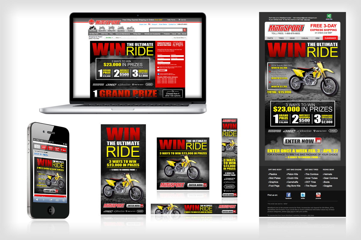 Ultimate Ride Giveaway Campaign