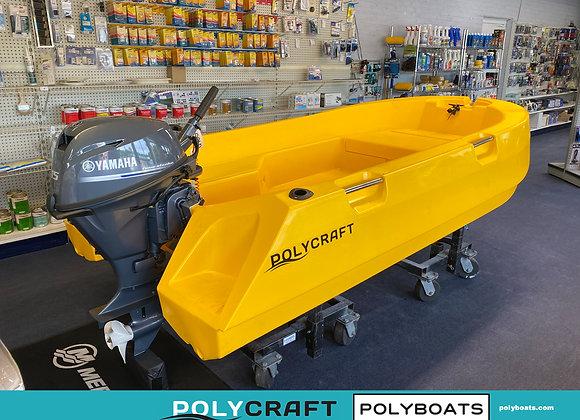 2021 Polycraft 300 Tuffy   9.9 HP Outboard