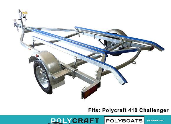 2021 Galvanized Trailer for Polycraft 410 Challenger