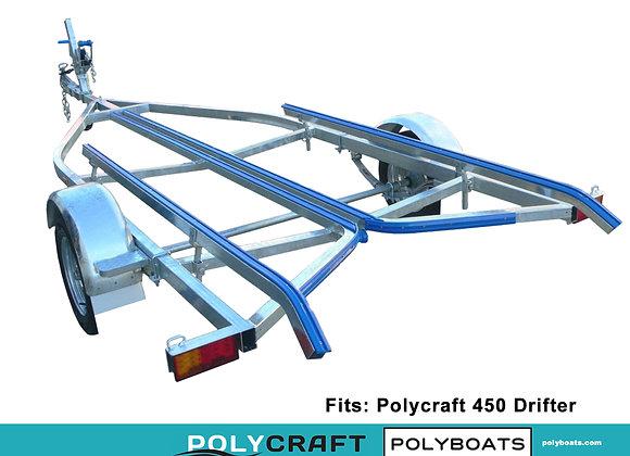2021 Galvanized Trailer for Polycraft 450 Drifter