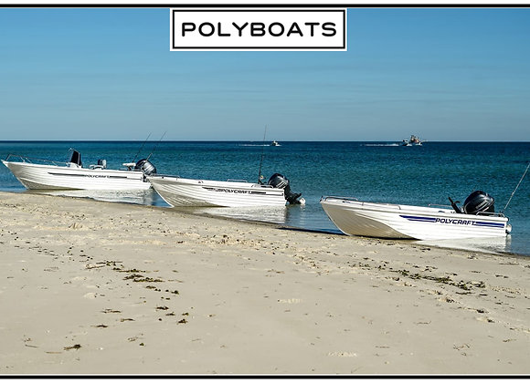 2021 Polycraft 410 Side Console | 50 HP Outboard