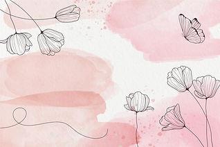 pastel-poudre-fond-elements-dessines-mai