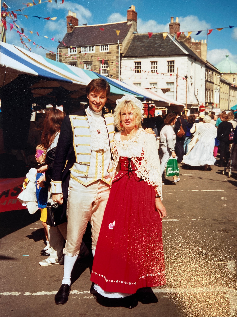As well as reporting on community life such as the Alnwick Fair I was on the committee