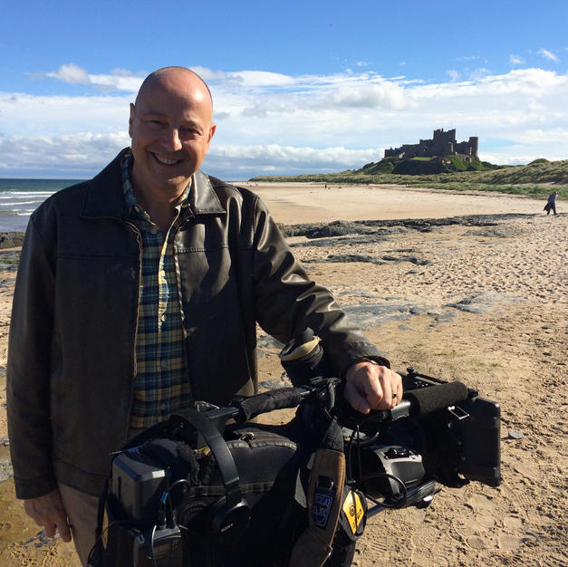 On Location in Bamburgh
