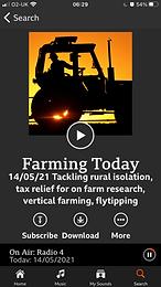 Radio 4  - Farming Today