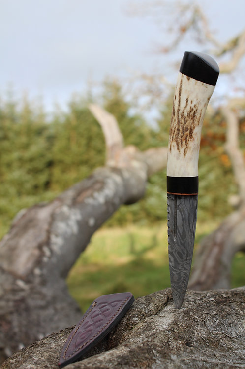 Red Stag Sgian Dubh