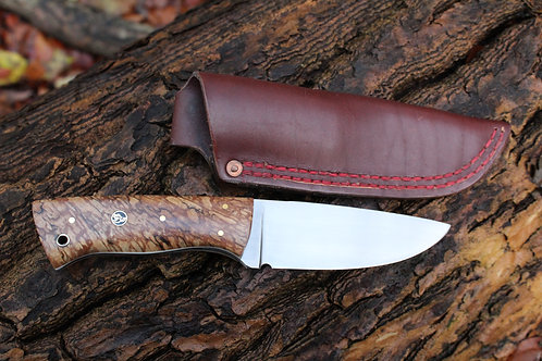 Spalted Beech Hunters Knife