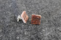Square Antler cufflinks