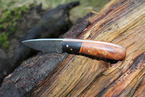 Elm Burl Neck Knife