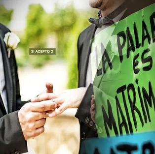 Sí, Acepto Perú movimiento nacional que busca el matrimonio igualitario para todos y todas
