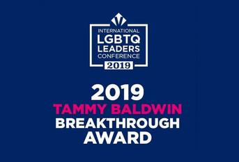 "Latinoamérica representada en la edición 2019 de los ""Tammy Baldwin Breakthrough Award"""