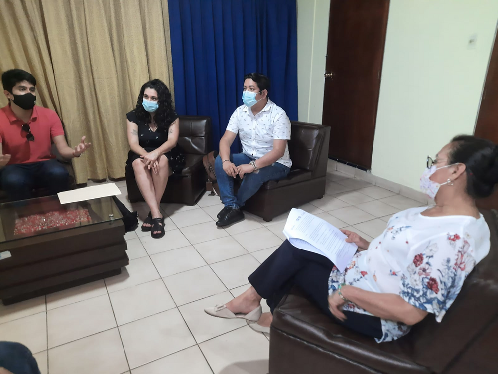 Alcaldesa de Punchana, Iquitos en reunión con Más Igualdad