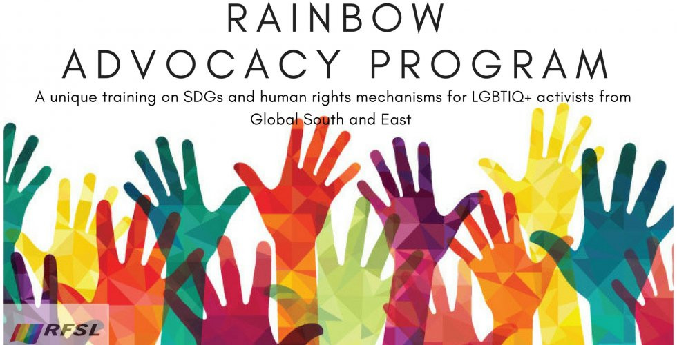 Rainbow Advocacy Program - UN - Más Igualdad Perú - ONG derechos - LGBTI