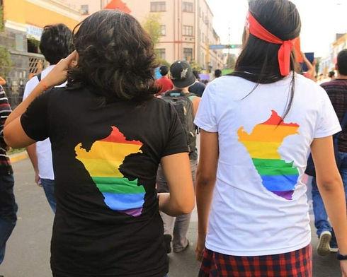 Marcha por la igualdad 2018 - Estudio Migración - Más Igualdad Perú - ONG derechos - LGBTI