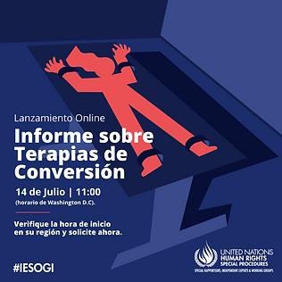Informe Terapias de Conversión ONU - Más